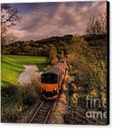 Taw Valley Canvas Print by Rob Hawkins