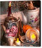 Tea Party - I Would Love To Have Some Tea  Canvas Print by Mike Savad