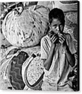 Technology In Sweatshop Canvas Print by Kantilal Patel