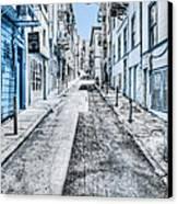 Telegraph Hill Blue Canvas Print by Scott Norris