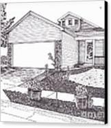 Teresa's House Canvas Print by Michelle Welles