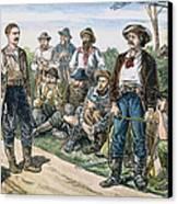 Texas Vigilantes, C1881 Canvas Print by Granger