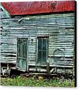 That Old House Down By The Creek Canvas Print by Julie Dant