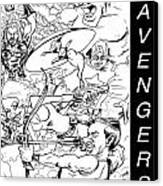 The Advengers Canvas Print by Big Mike Roate