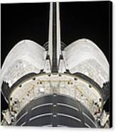 The Aft Portion Of The Space Shuttle Canvas Print by Stocktrek Images