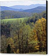 The Allegheny Front, North Fork Canvas Print by Raymond Gehman