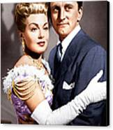 The Bad And The Beautiful, From Left Canvas Print by Everett