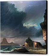 The Beach Canvas Print by Steve Goad