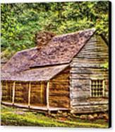 The Bud Ogle Homestead Canvas Print by Barry Jones