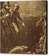 The Capture Of Margaret Garner Canvas Print by Photo Researchers