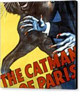 The Catman Of Paris, 1946 Canvas Print by Everett