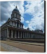 The Chapel At The Royal Naval College Canvas Print by Anna Villarreal Garbis