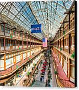 The Cleveland Arcade I Canvas Print by Clarence Holmes