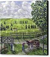 The Dairy Farm Canvas Print by Ronald Haber