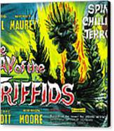 The Day Of The Triffids, British Poster Canvas Print by Everett