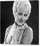 The Devils Brother, Thelma Todd, 1933 Canvas Print by Everett