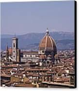 The Duomo Florence Canvas Print by Trevor Buchanan