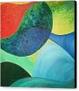 The Four Elements Canvas Print by Derya  Aktas