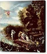 The Four Elements  Canvas Print by Flemish School
