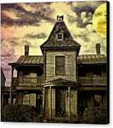 The Haunted Mansion Canvas Print by Bill Cannon