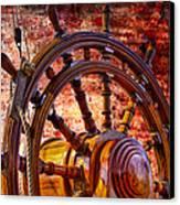 The Helm Canvas Print by Debra and Dave Vanderlaan