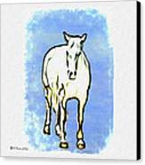 The Horse Canvas Print by Bill Cannon