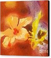 The Iris Flower Canvas Print by Odon Czintos