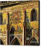 The Last Judgment - St Vitus Cathedral Prague Canvas Print by Christine Till