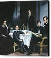 The Lincoln Family Canvas Print by Granger