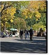 The Mall In Central Park Canvas Print by Rob Hans