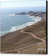 The Marin Headlands - California Shoreline - 5d19593 Canvas Print by Wingsdomain Art and Photography