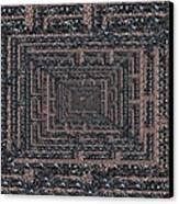 The Maze Canvas Print by Tim Allen