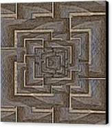The Maze Within Canvas Print by Tim Allen