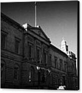 The National Archives Of Scotland General Register House Edinburgh Scotland Uk United Kingdom Canvas Print by Joe Fox