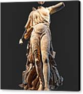 The Nike Of Paeonios - Ancient Olympia Canvas Print by Constantinos Iliopoulos