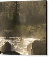 The North Fork Of The Stanislaus River Canvas Print by Phil Schermeister