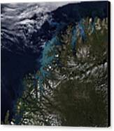 The Norwegian Sea Canvas Print by Stocktrek Images