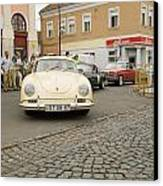 The Old Porshe Canvas Print by Odon Czintos