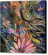 The Orange Wind Can Be Purchased Directly From Www.elenakotliarker.com Canvas Print by Elena Kotliarker