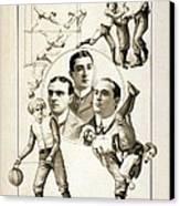 The Orpheum Show. Vaudeville Poster Canvas Print by Everett