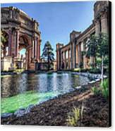 The Palace Of Fine Arts Canvas Print by Everet Regal