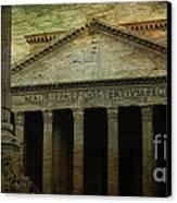 The Pantheon's Curse Canvas Print by Lee Dos Santos