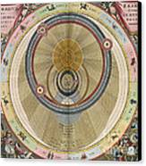 The Planisphere Of Brahe Harmonia Canvas Print by Science Source
