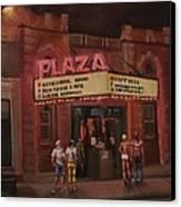 The Plaza Canvas Print by Tom Shropshire