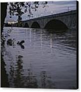 The Potomac Rivers Canvas Print by Stephen St. John