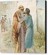 The Prodigal's Return Canvas Print by Ambrose Dudley