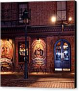 The Pub Canvas Print by Terry Wallace