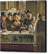The Public Bar Canvas Print by John Henry Henshall