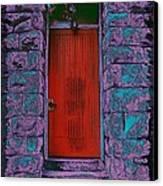 The Red Door Canvas Print by Tim Allen