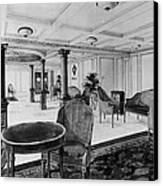 The Restaurant Reception Room Canvas Print by Everett